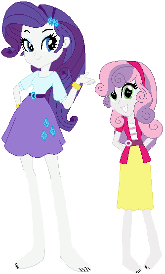 Equestria Girls Rarity and Sweetie Belle by ...