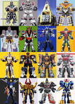 6th Ranger Megazords of Power Rangers 20