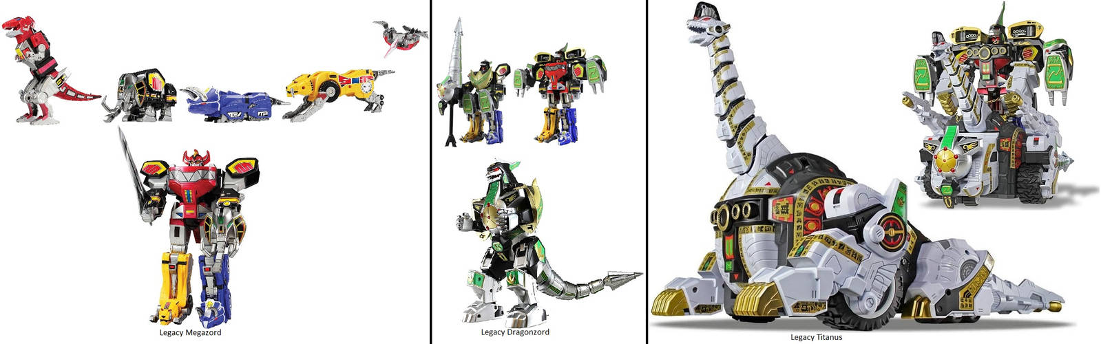 Mighty Morphin Power Rangers Legacy Collection