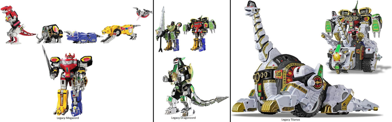 Mighty Morphin Power Rangers Legacy Collection by ChipmunkRaccoon2