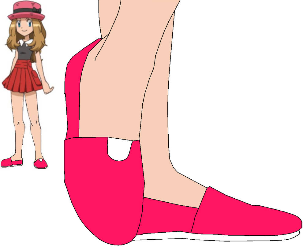633826771589 Serena Gabena in Pink Toms Flats by ChipmunkRaccoonOz on DeviantArt