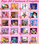 Top 20 Cartoon Couples