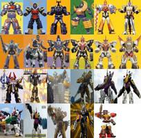Two-Piece Megazords by ChipmunkRaccoonOz