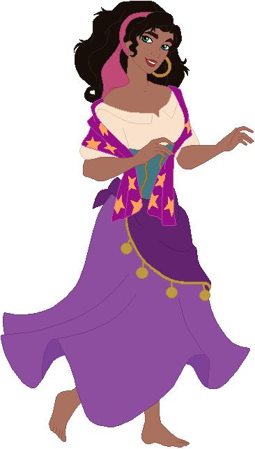 Barefoot Esmeralda by ChipmunkRaccoonOz on DeviantArt