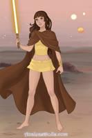 Maya / Yellow MegaForce Ranger by ChipmunkRaccoonOz