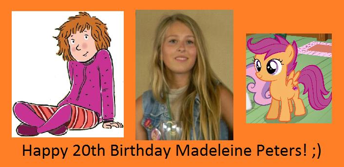 madeleine peters scootaloo - photo #8