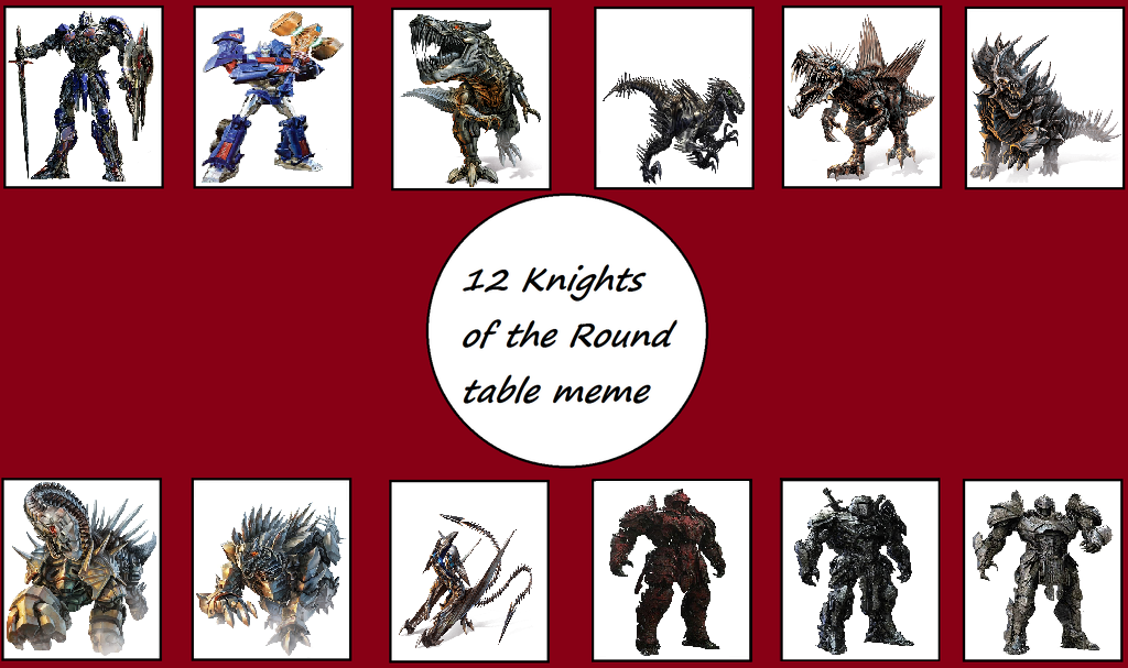 12 Knights Of The Round Table.12 Autobot Knights Of The Round Table By Chipmunkraccoonoz On Deviantart