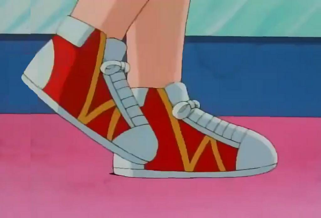 Misty 39 s sneaker clad feet while pacing 2 by chipmunkraccoonoz on deviantart - Pokemon misty feet ...