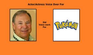 Frank Welker voiced for Pokemon