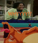 Kenan's reaction to Ash's disobediant Charizard