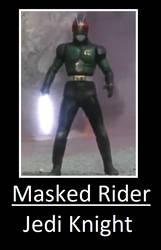 Masked Rider - Jedi Knight by ChipmunkRaccoonOz
