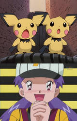 Casey likes the Pichu Brothers by ChipmunkRaccoonOz
