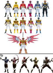 Power Rangers MegaForce - Earth-16196 by ChipmunkRaccoonOz