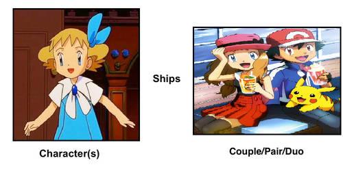Molly Hale ships Ash and Serena by ChipmunkRaccoonOz