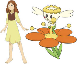 Arrietty Clock and Flabebe by ChipmunkRaccoonOz