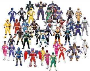 Zordon-era Saban Superheroes