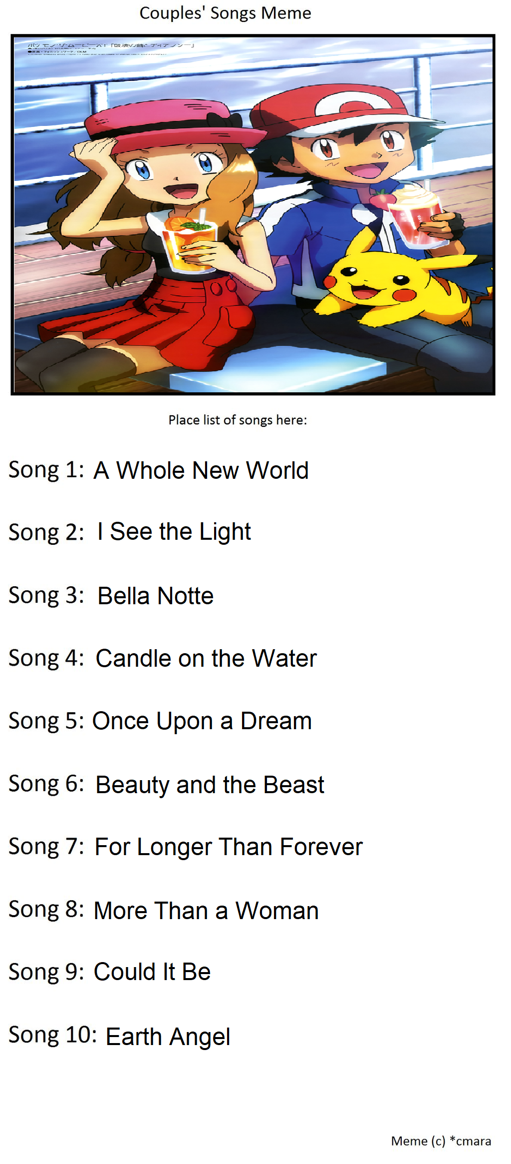 Amourshipping Songs