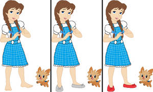 Dorothy Gale and Toto - Pokemon version