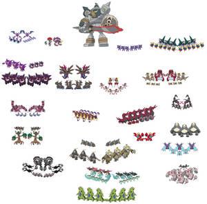 Pokemon Army belonging to evil fairies