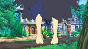 Big Acerola outside Malie Library