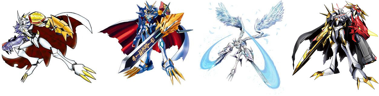 Omnimon-species who have appeared in the anime