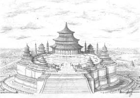 Pagoda by Osokin