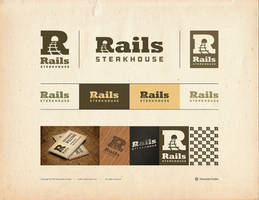 Rails Steakhouse Logotype