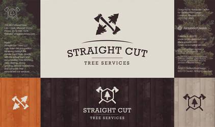 Straight Cut Logo by Osokin