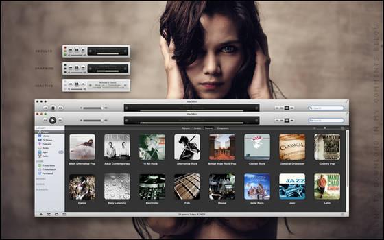 iTunes Dark mod 10.5.2