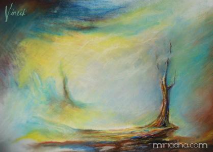 Tree on the brink by Vincik
