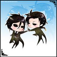 blackbutler VS Shadowbutled by Hika-ritsu