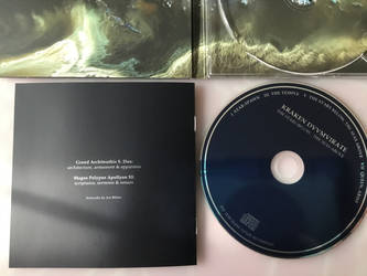 Jon Bibire Art for Kraken Duumvirate Album 2020