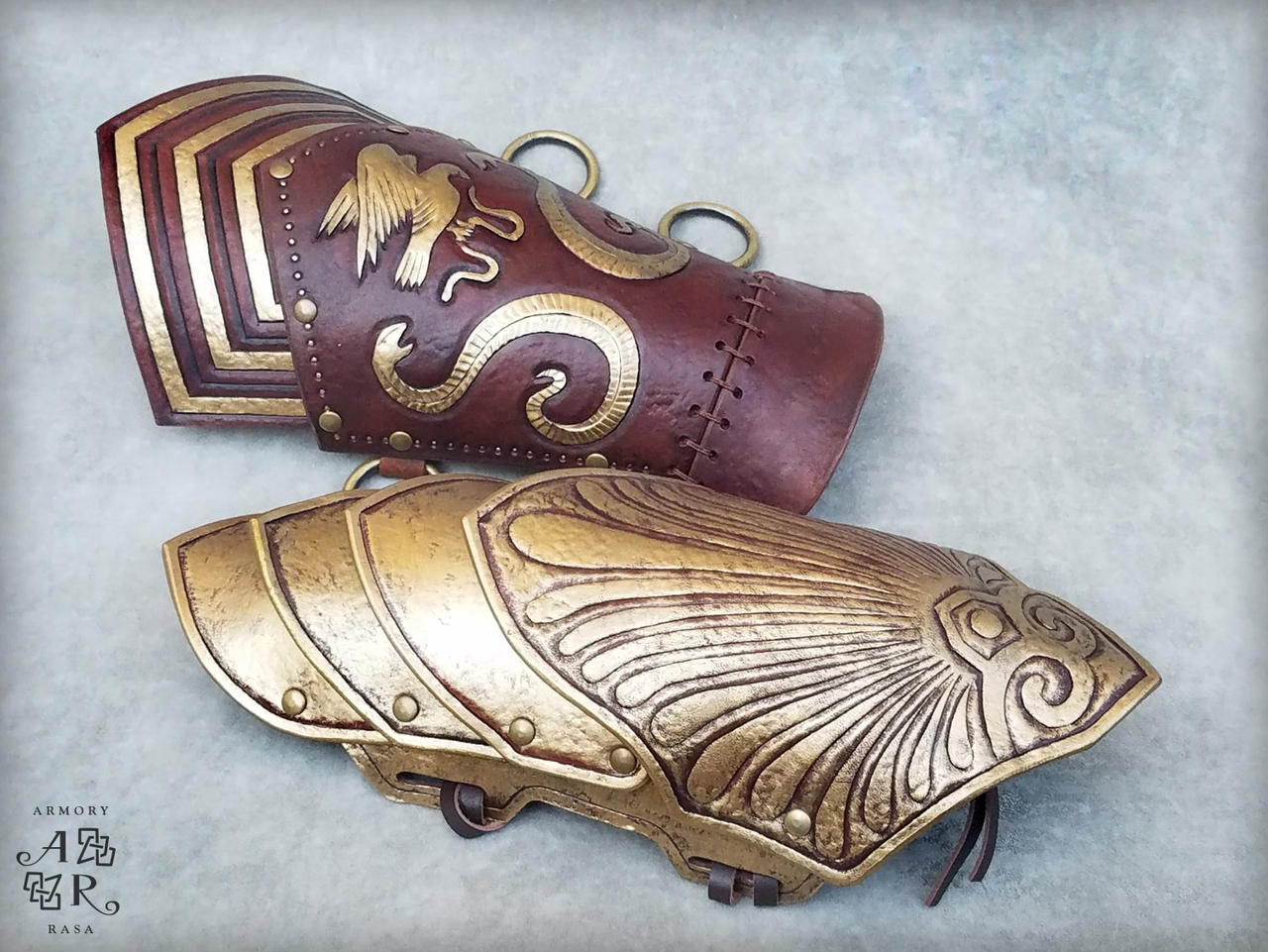 Assassin S Creed Odyssey Bracers By Armory Rasa On Deviantart
