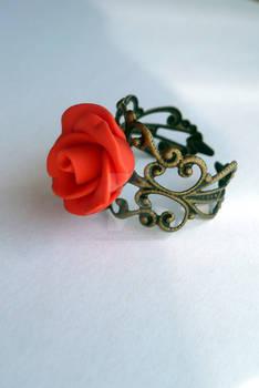 Handmade Rose Ring