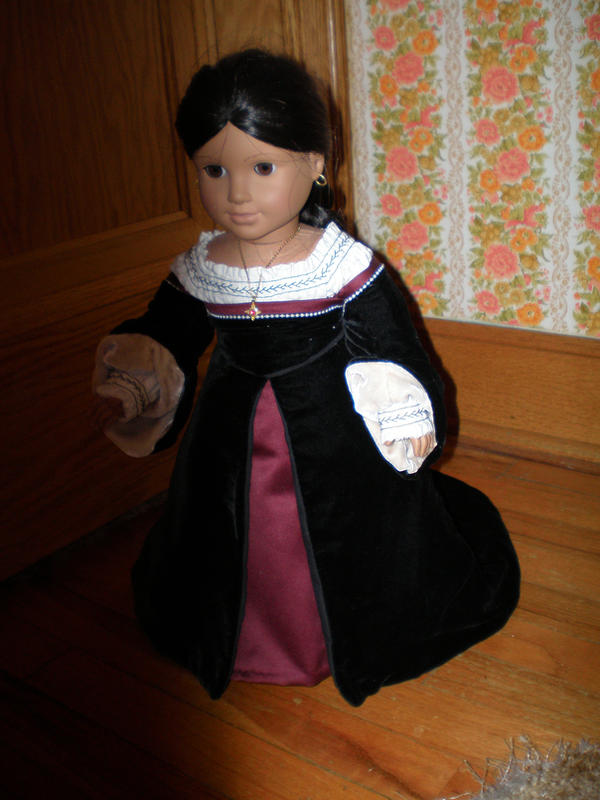 American Girl Tudor by duchessobservia