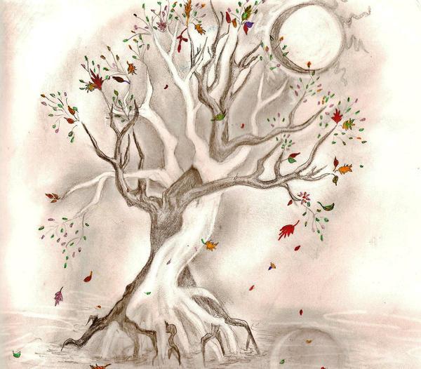 Pin Intertwined Tree Tattoos on Pinterest