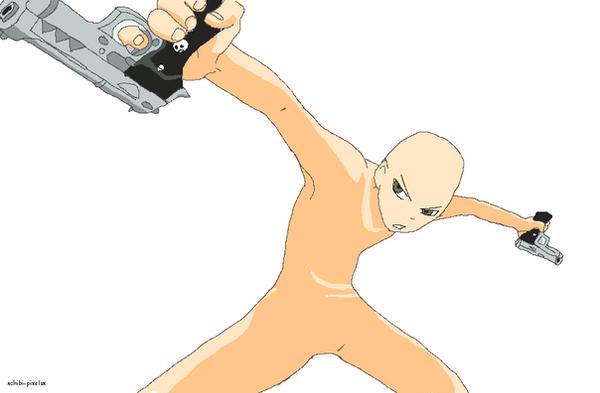 Death The Kidd Base by xChibi-Pixelsx