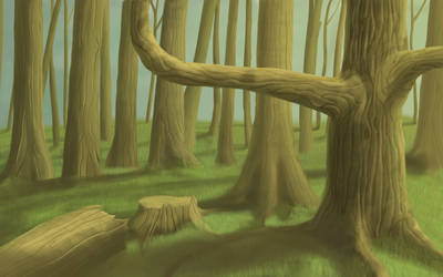 forest by nateeboy