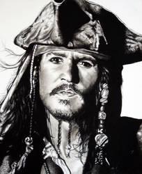 Captain Jack Sparrow by Stitch-Bunny