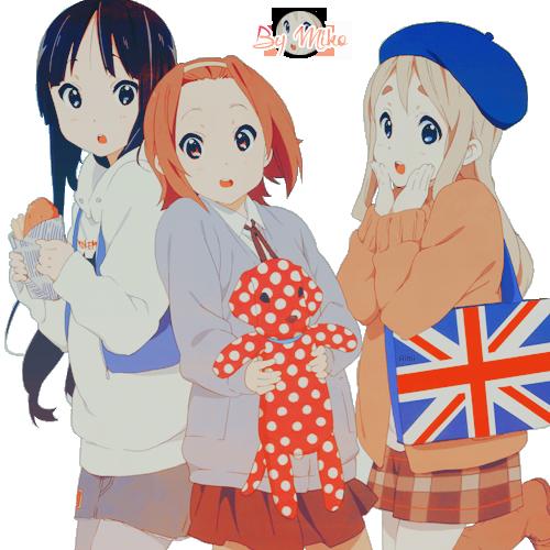 Renders, tout frais et mignons !  Render_mio__ritsu_mugi_by_himawarii_chan-d78bpnc