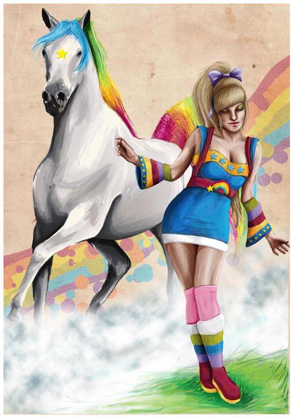 Rainbow Brite and Starlite by AllMortalKombat