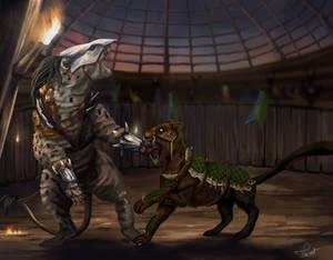 [WoC] Fight! by Tila-art