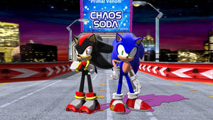 [MMD/SONIC] Sonic and Shadow