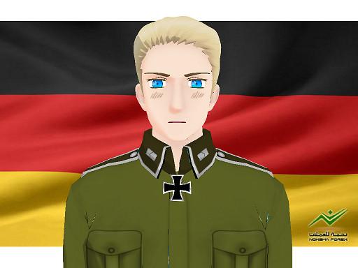 MMD Hetalia model:Germany by Ash080897