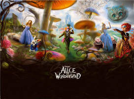 AIW: Alice in Wonderland by Kyukitsune