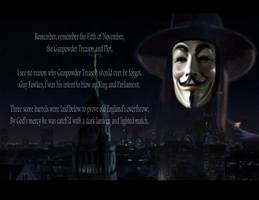 V for Vendetta: Remember Remember by Kyukitsune