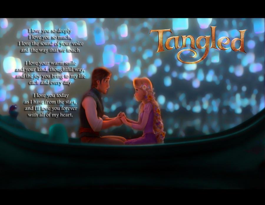 Tangled I Will Love You Forever By Kyukitsune
