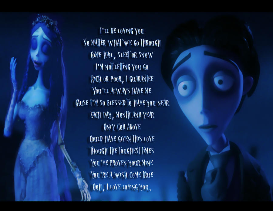 Corpse Bride: Groom's Thoughts by Kyukitsune