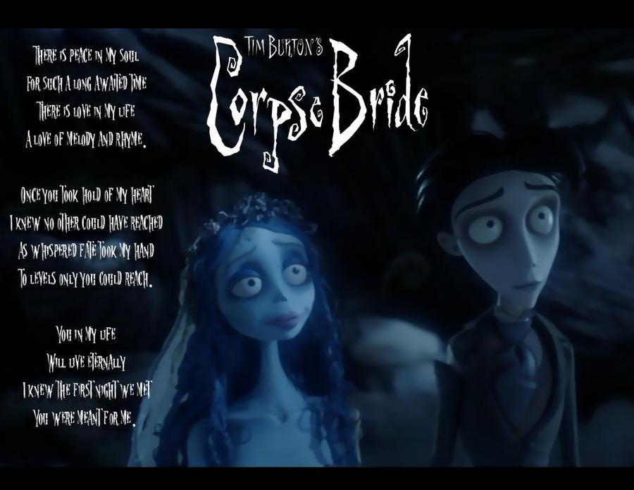 Corpse Bride Peaceful Love By Kyukitsune