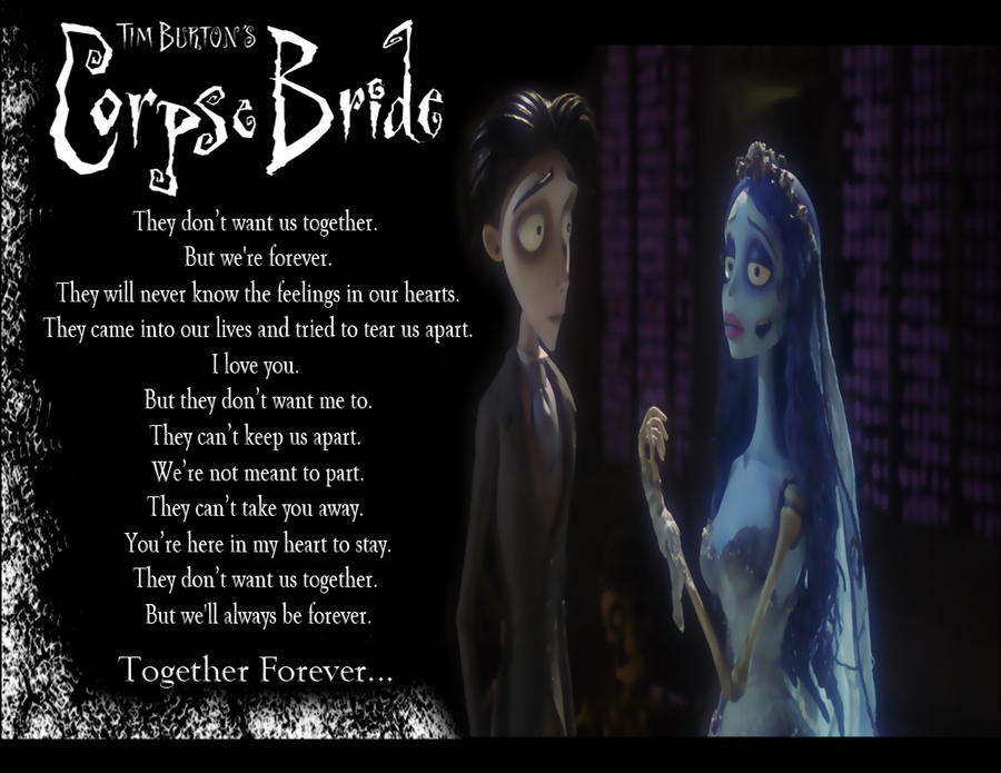 Corpse Bride Love Quotes